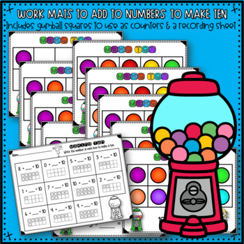 Make Ten Activities and Printables