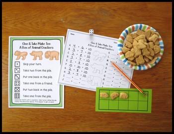 Make Ten Addition Fact Strategy Game Bundle