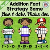Make Ten Addition Fact Strategy Game Bundle