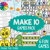 Make Ten Games / Centers Pack {Addition}