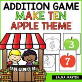 Ways to Make Ten - Fall Apples Theme