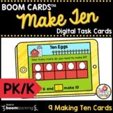 Make Ten Boom Cards™ Pre-K and Kindergarten Math Task Card