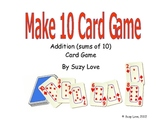 Make Ten Card Game Math