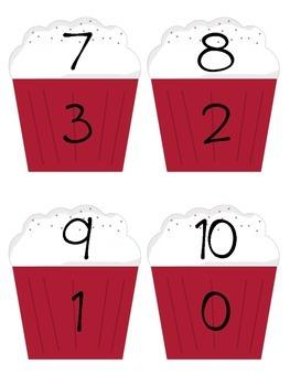 Make Ten Cupcake Match