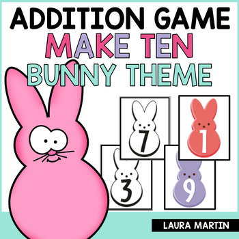Ways to Make Ten - Easter Theme
