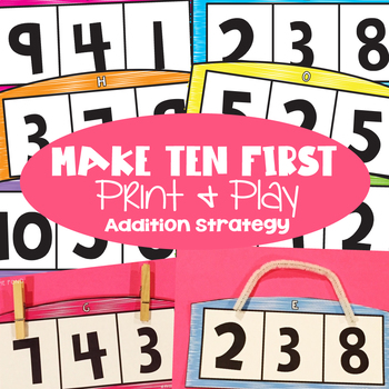 Make Ten First Addition Activity
