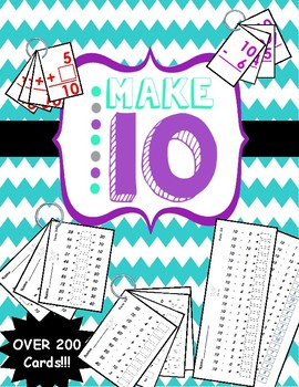 Making Ten Flashcards and Flip Cards for Math Fluency