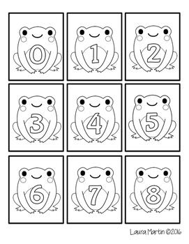 Ways to Make Ten - Spring Frogs Theme