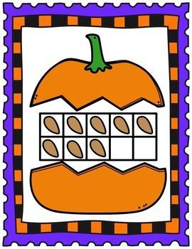 Make Ten Game-  Halloween Themed Game- Engaging practice