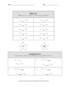 Make Ten: Intro and Assessment