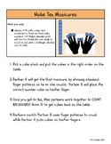 Make Ten Manicure Math Center: Count forward and backward to 10!
