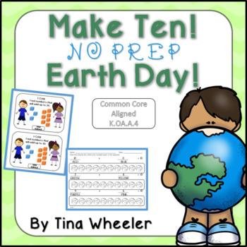 Make Ten NO PREP Earth Day