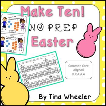 Make Ten NO PREP Easter