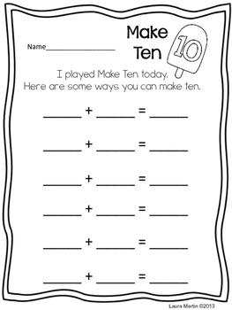Making Ten-FREEBIE