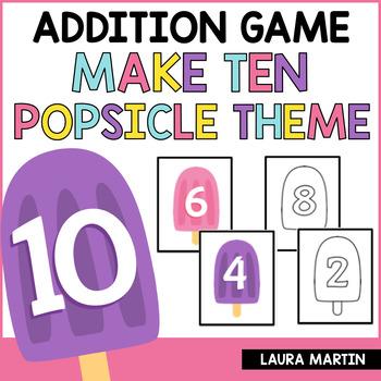 Make Ten-Popsicle Style FREEBIE