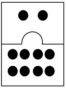 Make Ten Puzzle Cards / Subitizing with Dot Cards