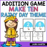 Ways to Make Ten | Spring Rain Theme