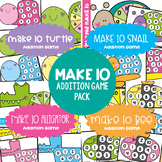Make Ten Game Pack {Make 10 Friends} - Addition Combinations Ten