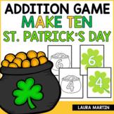 Ways to Make Ten - St. Patrick's Day Theme