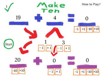 Make Ten (Then Add)