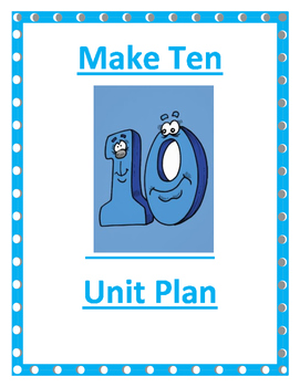 Make Ten Written Lesson Plan and Resources Day 2 of 5