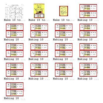 Make Ten to Subtract (2.OA.2, 1.OA.6)