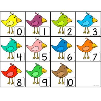 Make 10 with Little Birdie!