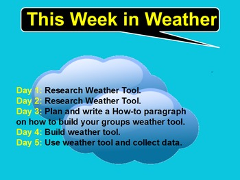 Make & Test Your Own Weather Tools