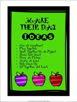 """Make Their Day"" Activity"
