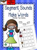Make Three Letter Short Vowel Words - Segmenting