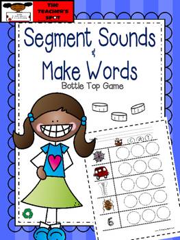 Make Three Letter Short Vowel Words - Segmenting