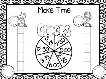Make Time:  NO PREP Time to the Quarter Hour Race to the Top Game