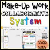 Make-Up Work Collaborative System in Google Slides™