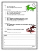 Make Up Your Own Dragon Species Report Writing Pages