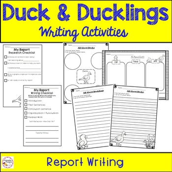 make way for ducklings writing activities