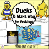 Make Way For Ducklings and Duck Writing Bundle - Distance