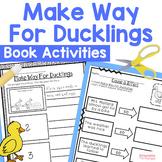 Make Way For Ducklings Book Activities