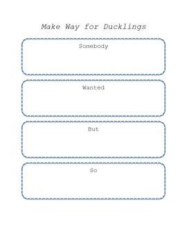 Make Way For Ducklings Plot Diagram