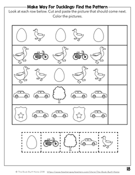 Make Way For Ducklings: 19 Book Companion Activities
