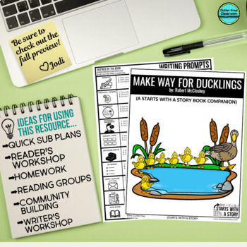 Make Way for Ducklings Activities and Read Aloud Lessons