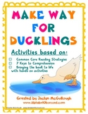 Make Way for Ducklings Common Core Literacy Pack