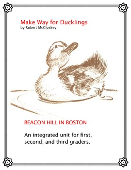 Make Way for Ducklings and a Beacon Hill Study