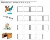Phonics Word Work Center: Short Vowels, Long Vowels, Blends, Digraphs
