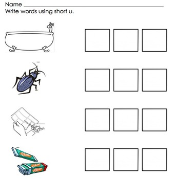 Phonics Word Work Center: Short Vowels, Long Vowels, Blends, Digraphs