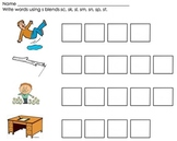 Phonics Word Work Center: Short Vowels, Long Vowels, Blend