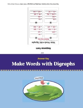Make Words with Digraphs (Take It to Your Seat Centers)