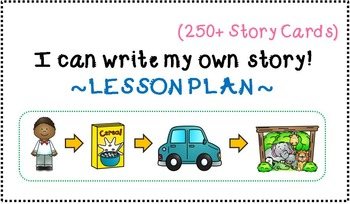 I Can Write My Own Story - Lesson Plan