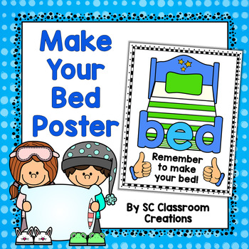 Make Your Bed Poster for b and d