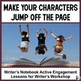 Make Your Characters Jump Off the Page