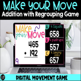 Make Your Move Addition With Regrouping Digital Game